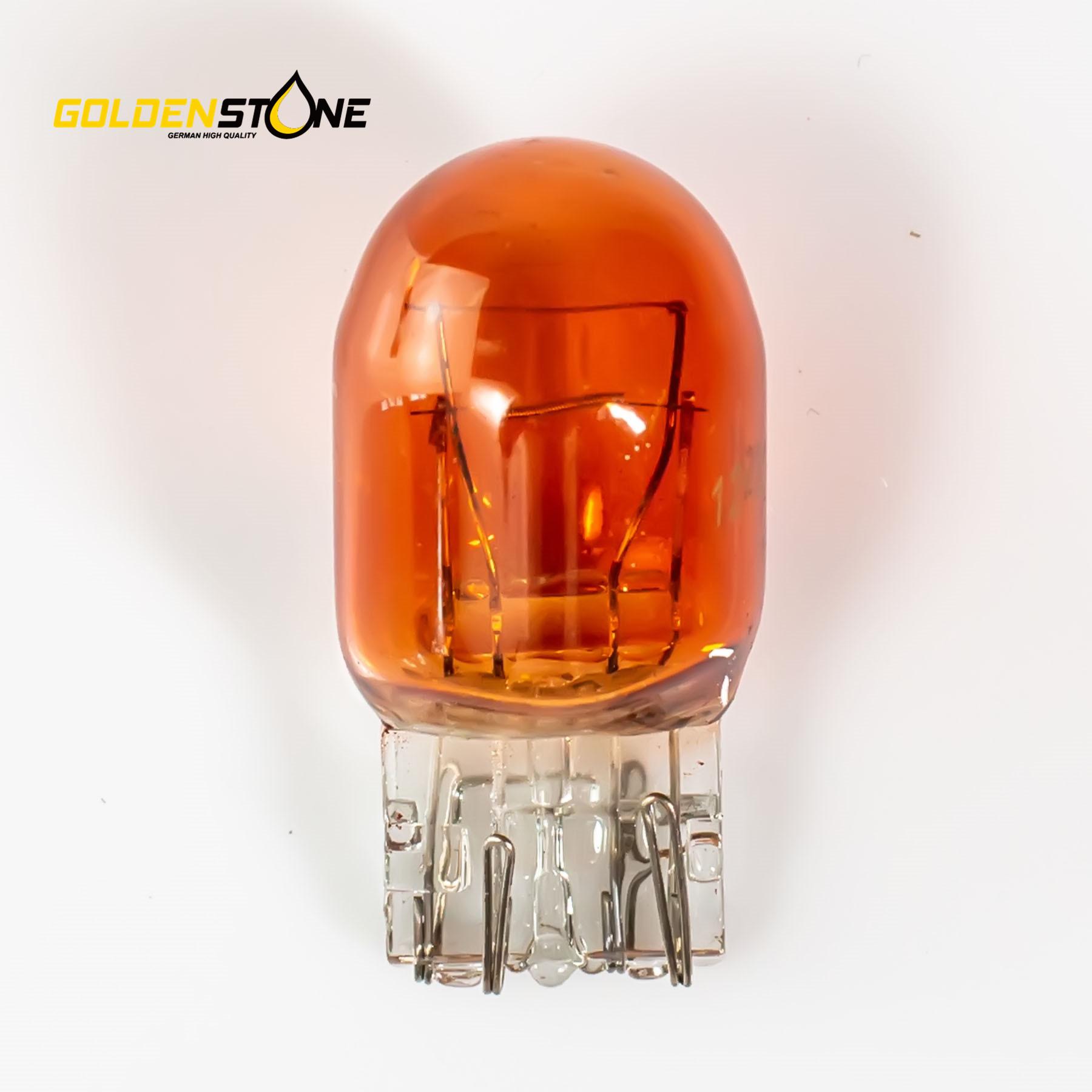 Goldenstone Pære WY21W/5W T20 W3x16q 12V 10stk.