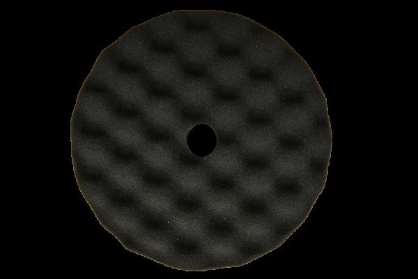 Polerrondel – Polerpude velcro 180mm blød Sort