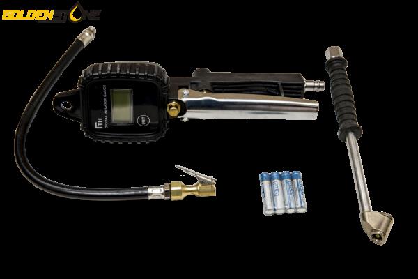 Digital pumpepistol – Dæktryksmåler 0-12 BAR
