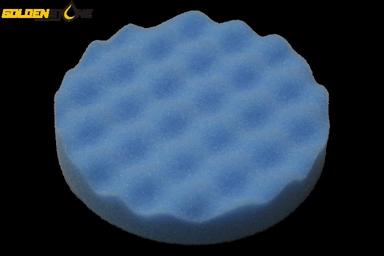 Polerrondel – Polerpude velcro 150mm blå