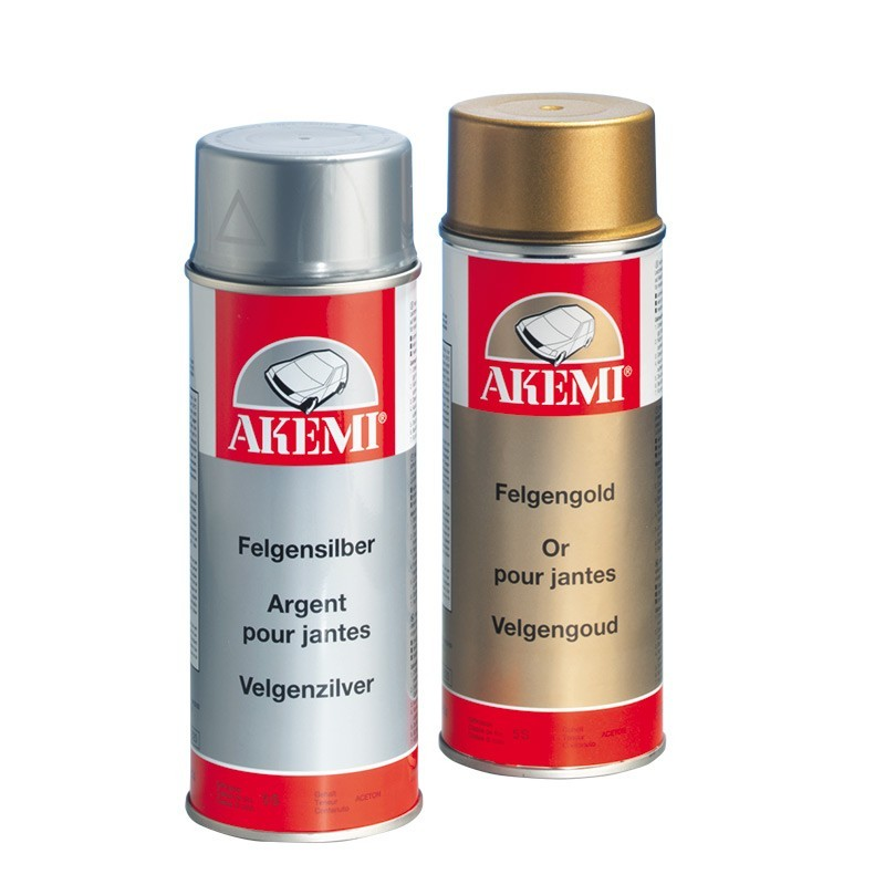 Fælge maling Hvid - fælgspray 400ml.