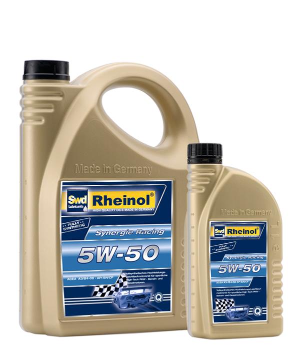 Rheinol Motorolie 5W/50 4L.