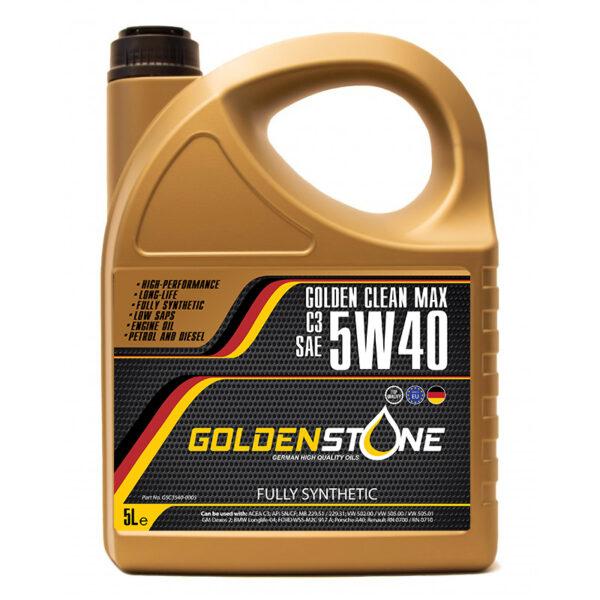 Goldenstone Motorolie 5W40 ACEA C3 RN0700 / RN0710 5liter