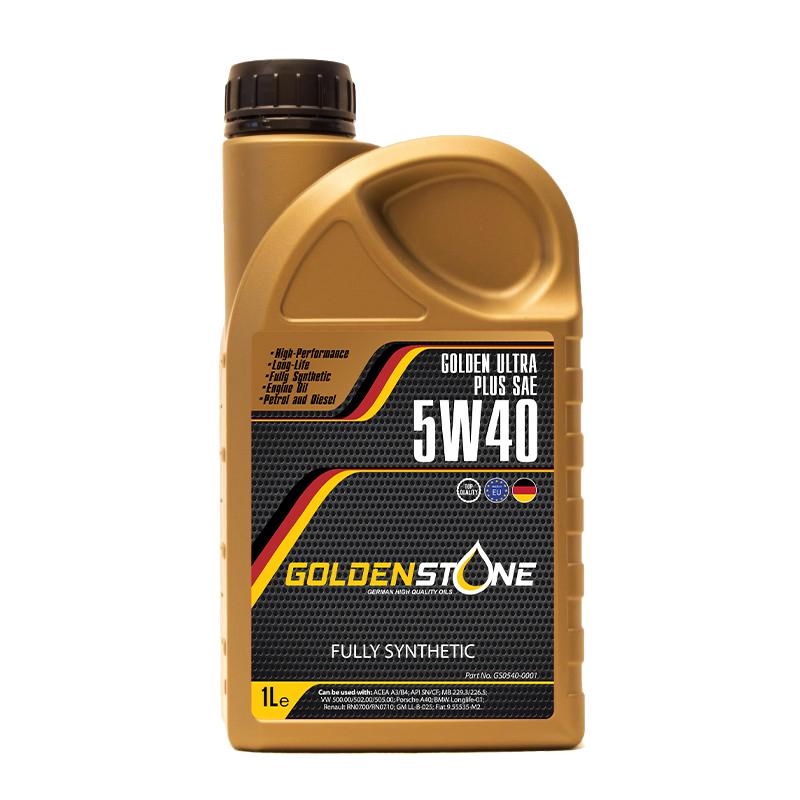 Goldenstone Motorolie 5W/40 Full Synthetic 1liter