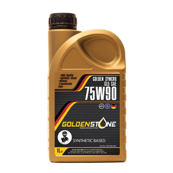 Goldenstone Gearolie 75W90 GL-5 1liter