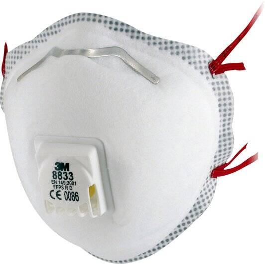 3M 8833 Maske FFP3 10STK