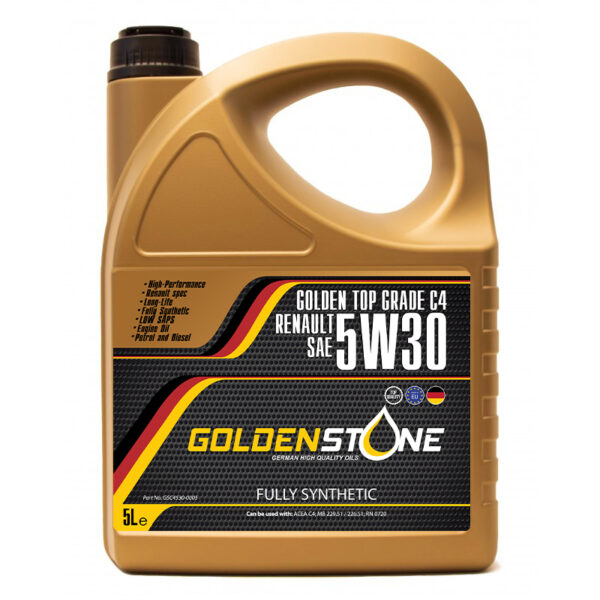 Goldenstone Motorolie 5W30 C4 RN0720 LONGLIFE 5liter