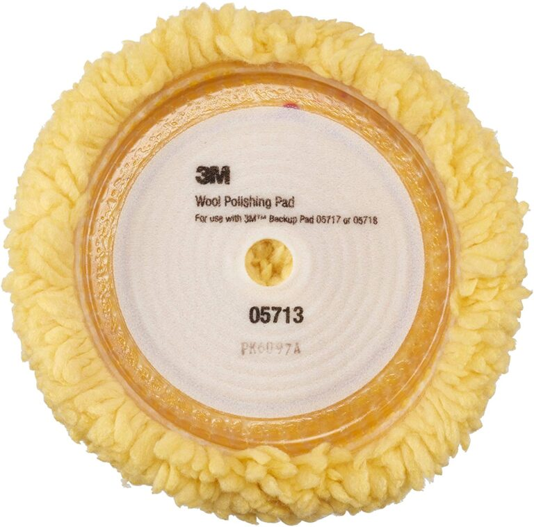 3M 05713 lammeuld polerskive velcro Ø228mm 3M Polishing pad