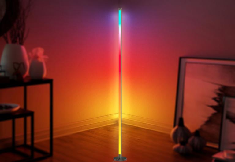 Led hjørnelampe RGB