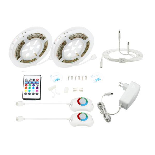 LED Strip med sensor til under sengen - LED Bånd med sensor