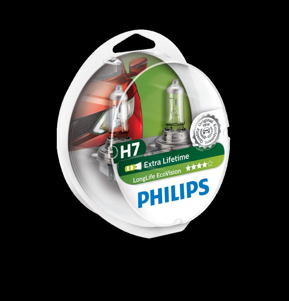 H7 Philips Extra lifetime