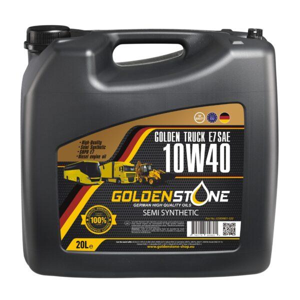 Goldenstone 10W40 Golden Truck E7 SAE2 20liter