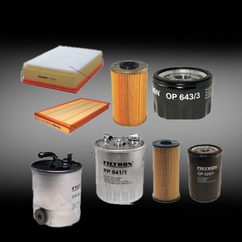 Oliefilter - Brændstoffilter - Luftfilter - Polenfilter