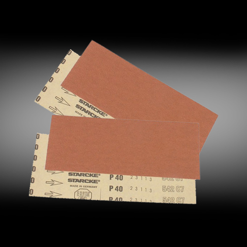 Sandpapir 115 x 280 mm ark.