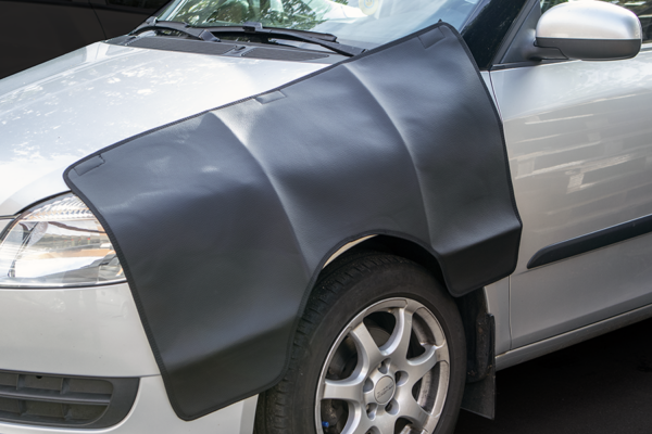 Skærmbeskytter til bil m/magnit