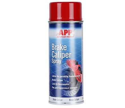 Bremsekaliber maling - Kaliberspray maling Rød