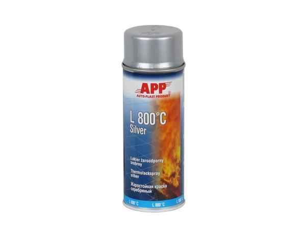 Varmefast spray  - Sølv L800