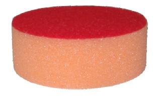 Polere svamp velcro ø75 (orange)