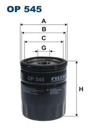 Oliefilter - W713/16 /W715/1 OP545