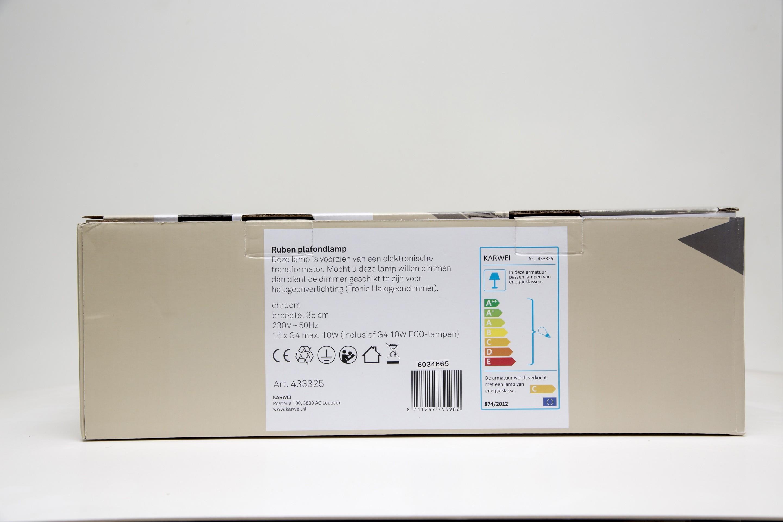 Loftlampe Hvid 230v