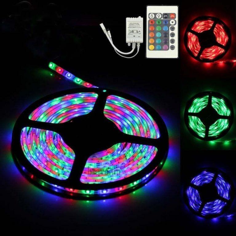 LED Strip RGB - LED Bånd 5meter