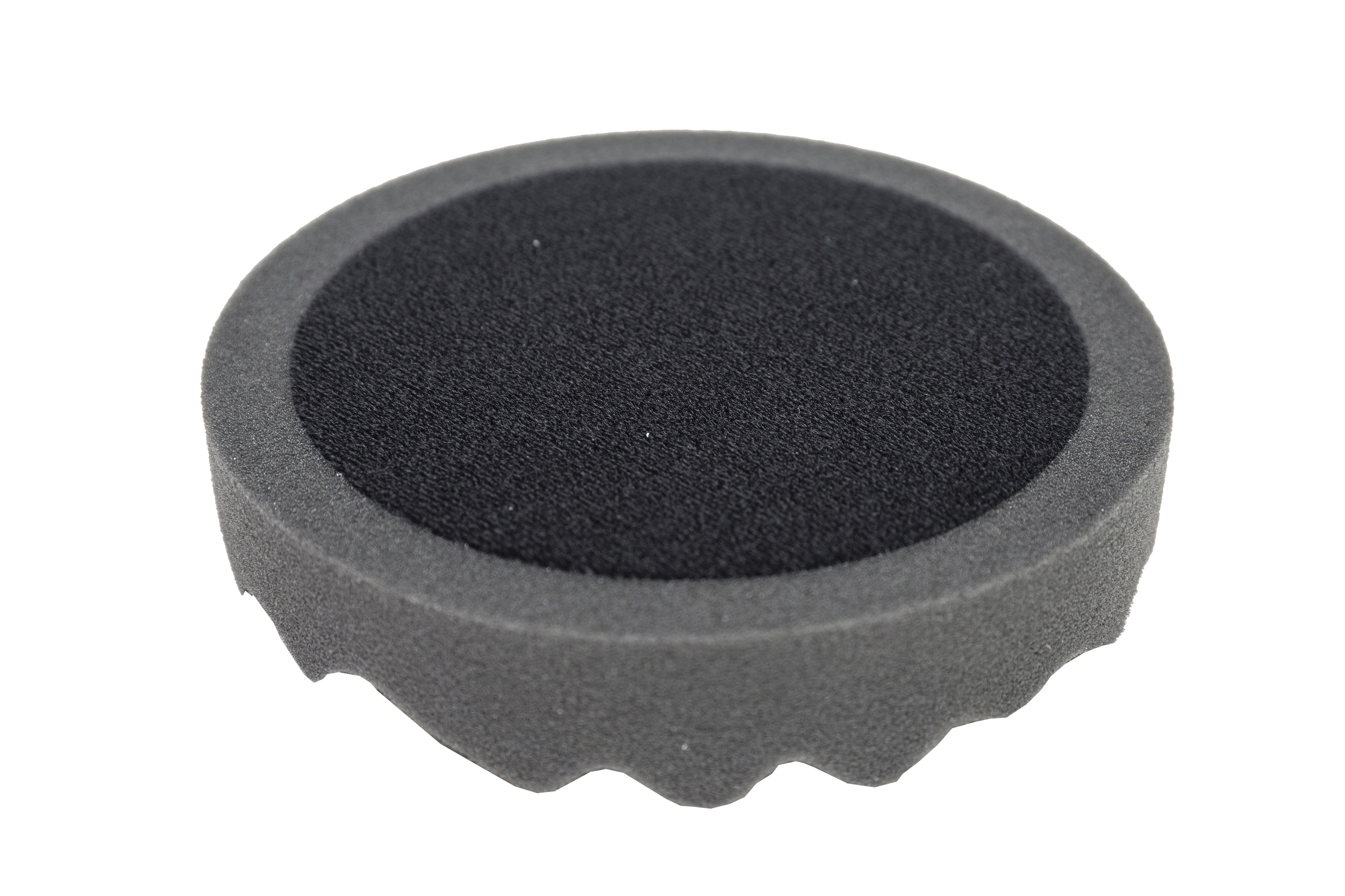 Polere svamp velcro Ø150 (sort)