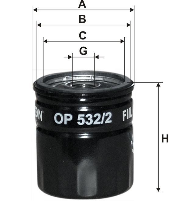 Oliefilter FORD - MAZDA DO5013