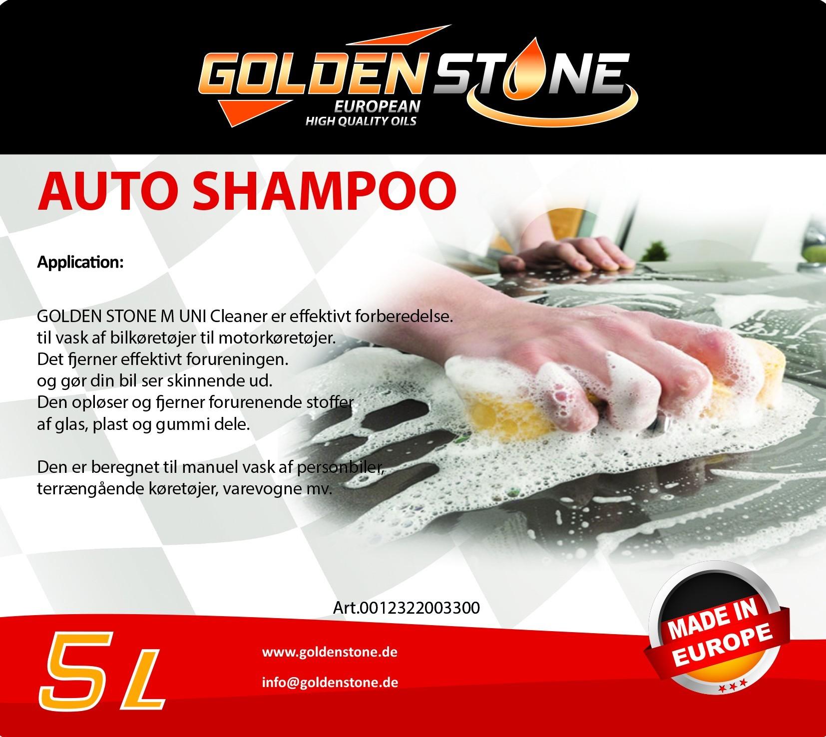 Autoshampoo 5 liter