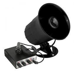Bil siren med mic - 10 sirenlyd