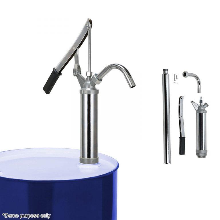 Olie Håndpumpe – Oliepumpe til 60 og 200 ltr tromler