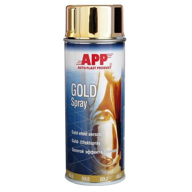 Guld spraymaling 400ml.